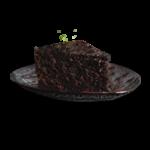 کیک شکلاتی برشی - بستنی نوبهار